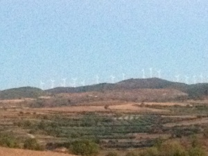 More wind mills, Spain is very green minded