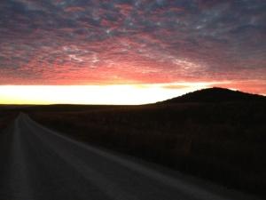 Fantastic sunrise again