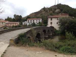 The outskirts of new Pamplona , another bridge