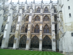 The side of the Abby