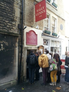 Line to get into Sally Lunn's