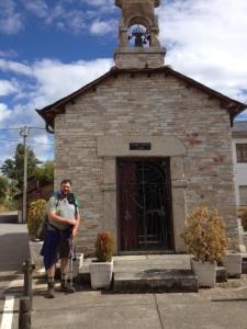 A tiny church